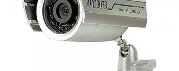 Kültéri, AVC kompakt kamera ? asztali rögzítővel